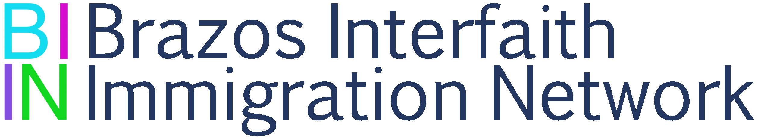 Brazos Interfaith Immigration Network – BIIN's mission is to